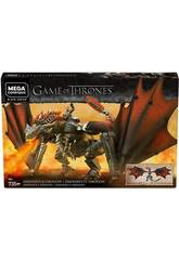 Game of Thrones Mega Construx Daenerys et Drogon Mattel GKG97