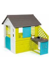 Casa Pretty II con Cocina y Accesorios Smoby 810711