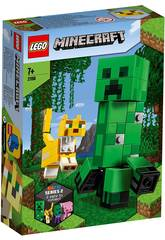Lego Minecraft Big Fit Creeper et Ocelot 21156