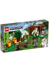 Lego Minecraft El Puesto de Saqueadores 21159