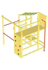 Parque Infantil Crossfit con Barra Bombero Masgames MA802902