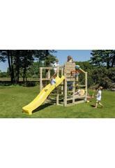 Parque Infantil Crossfit con Tobogán Masgames MA802901