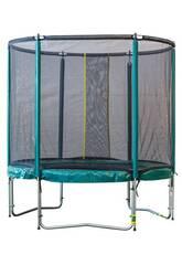 Cama Elástica Deluxe 305 cm. com Rede e Escada Masgames MA302416