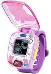 Peppa Pig Lila Uhr Vtech 526022