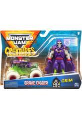 Monster Jam Creatures 1:64 Diecast con Figura Bizak 6192 5879