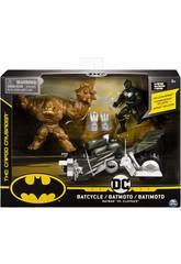 Batman Batmoto con 2 Figure 10 cm. Bizak 6192 7811