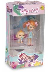 Figurine Mimy City Série 1 Aby & Oli Famosa 700015444