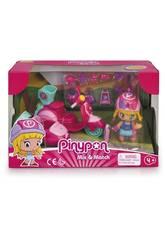 Pinypon Motorrad mit Beiwagen und Figur von Famosa 700015652