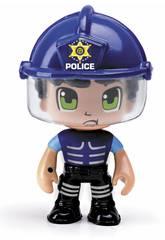 Pin y Pon Action Bereitschaftspolizei Notlage-Figur Famosa 700014491