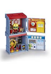 Pinypon Action 2 Mixópolis Boxes Pompiers et Banque Famosa 700015714