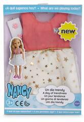Nancy Ein Trendy-Tag Sternen-Kleid Famosa 700014114