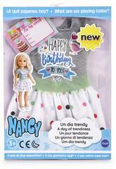 Nancy Un Día Trendy Vestido Cumpleaños Famosa 700014114