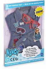 Nancy Une Journée Trendy Robe en Jean Famosa 700014114