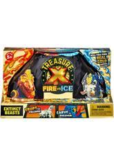 Treasure X Serie 4 Bestas Fogo Vs Gelo Famosa 700015741