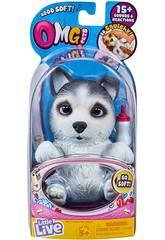 Little Live Pets Omg Cagnolino Huskle Famosa 700015739