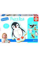 Baby Puzzle Animales Polo Norte Educa 18588