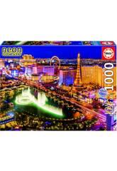 Puzzle 1000 Las Vegas Nón Educa 16761