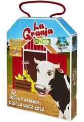 La Granja de Zenón Juega y Aprende Con La Vaca Lola Bandai EB81202