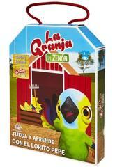 La Granja de Zenón Juega y Aprende con El Lorito Pepe Bandai EB81203