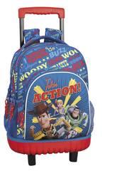 Zaino Grande con Ruote Compact Toy Story 4 Safta 611931818