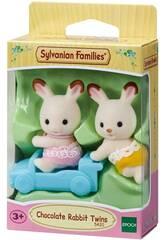 Sylvanian Families Gemelli Coniglio Cioccolato Epoch Para Imaginar 5420