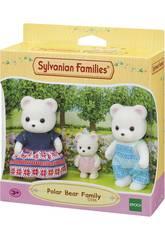 Sylvanian Families Família Urso Polar Epoch Para Imaginar 5396