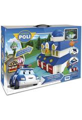 Robocar Poli Quartel-General com Figura Toy Partner 83156