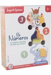 Jugant Aprenc Els Números Clementoni 55368