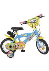 Vélo Bob l'Éponge 12 Pouces Toimsa 1247