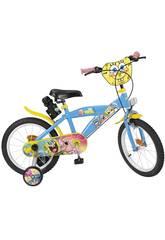 Bicicleta Bob Esponja 16
