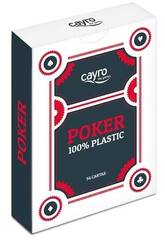 Cartes de Poker 100% Plastique Cayro 5505