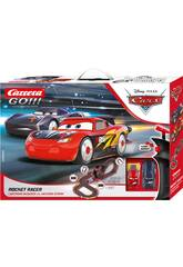 Pista Cars Rocket Racer Saetta e Storm 5.3 m. con Luci Carrera 62518