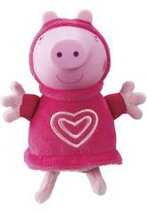 Peppa Pig Peluche com Luz Pijama Cor-de-rosa Bandai 6916