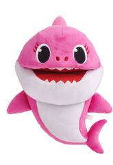 Baby Shark Marioneta Cantarina Mummy Shark Bandai SS01004