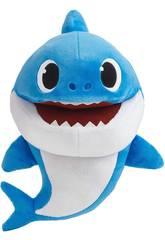 Baby Shark Burattino Canterino Daddy Shark Bandai SS01005