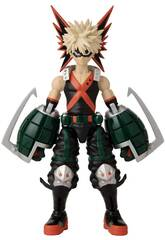 My Hero Academie Anime Helden Bakugo Katsuki Figur von Bandai 36912