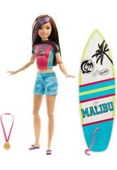 Barbie Sorella Sportiva Surf Mattel GHK36