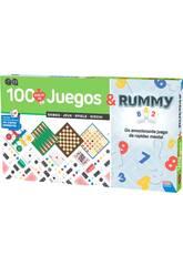 100 Juegos Reunidos + Rummy Falomir 29313