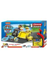 Paw Patrol Circuito Carrera First Chase e Rubble Carrera 63034