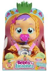 Bebés Chorões Tutti Frutti Pia Ananas IMC Toys 93829