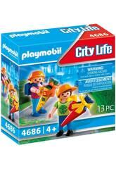 Playmobil Mon Premier Jour d'École 4686