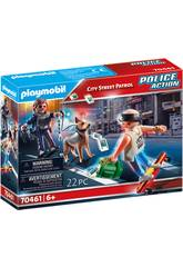 Playmobil Ronde rue de ville 70461