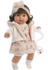 Pippa Weinende Pupppe 42 cm. Llorens 42156