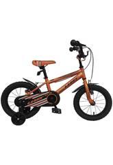 Bicicleta 14 XT14 Naranja Umit 1470-6