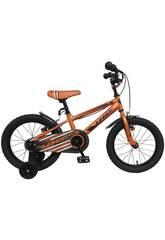 Bicicleta de 16 XT16 Naranja Umit 1670-6
