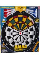 Diana con 6 Dardos