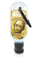 Gel Idroalcolico 30 ml. Clip Disney Star Wars C3PO