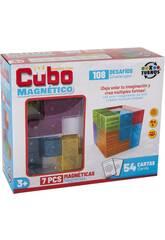 Cubo Mágico 7 Peças Magnético 6x6 cm.