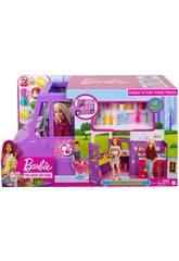 Barbie Fourgon Alimentaire avec des Accessoires Mattel GMW07