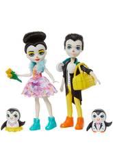 Enchantimals Penguin Ice Skaters Mattel GJX49